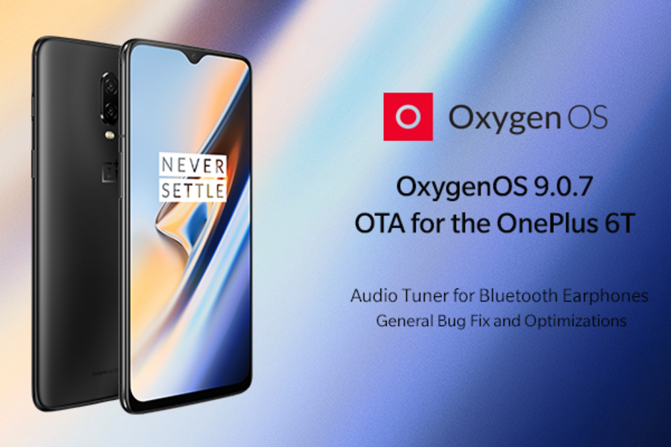 OnePlus 6T new update brings audio and camera improvements see whats new in OxygenOS 9.0.7
